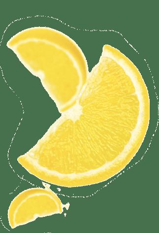 Fond Citron transparent