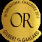 Gilbert et Gaillard Médaille d'or 2019