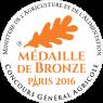 Médaille Bronze 2016 Paris