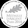 Médaille Argent Paris 2014